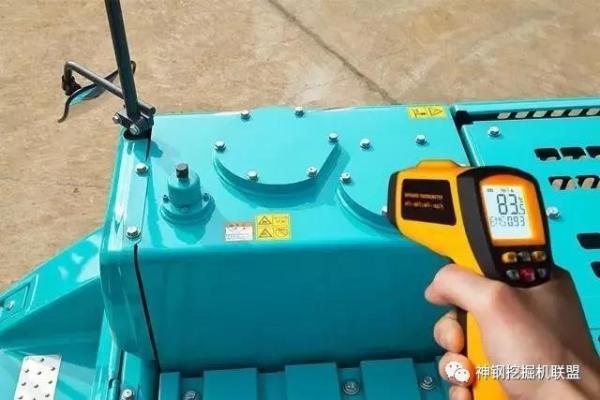 检测挖掘机油温