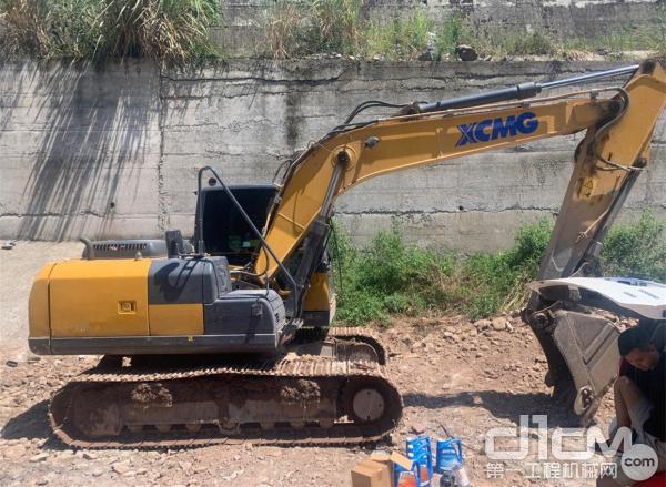 徐工挖机用户冯卫国的挖机设备
