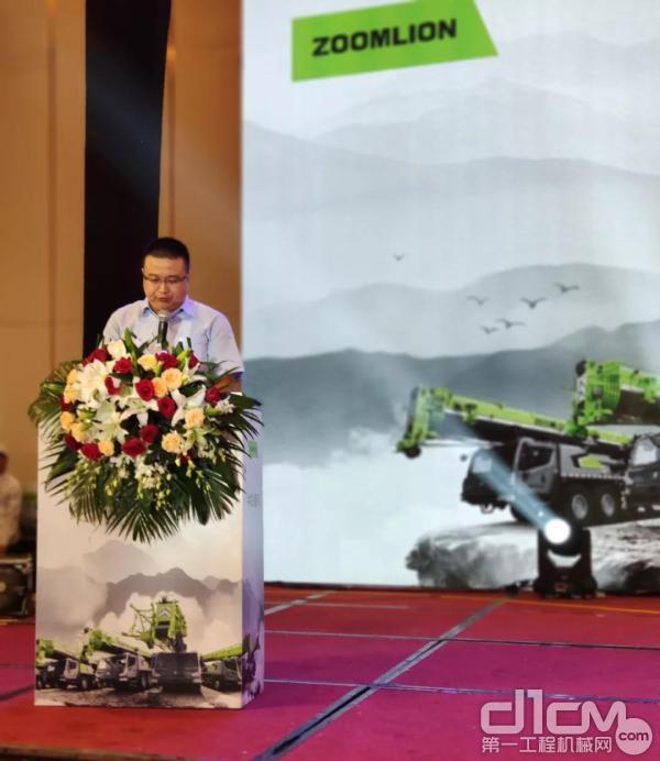中联重科工程起重机企业副总经理罗同春先生