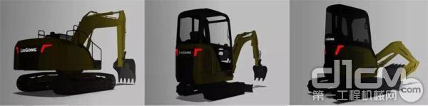 柳工:国四挖机 + 电动挖机