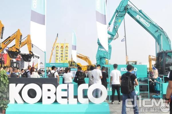北京BICES2019<a href=http://product.d1cm.com/brand/kobelco/ target=_blank>神钢</a>展区