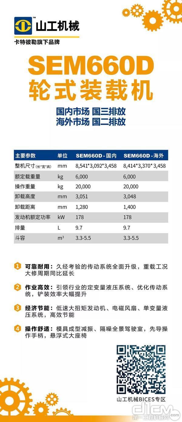 SEM660D轮式装载机简介