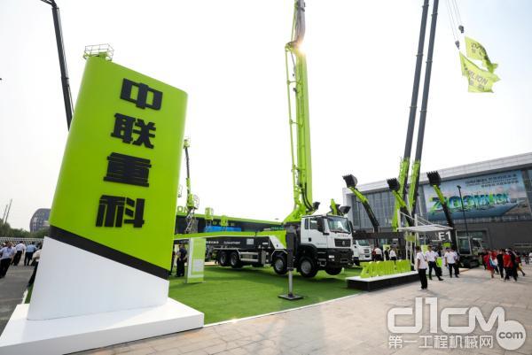 中联重科在北京展发布全新国六混凝土、工起新品