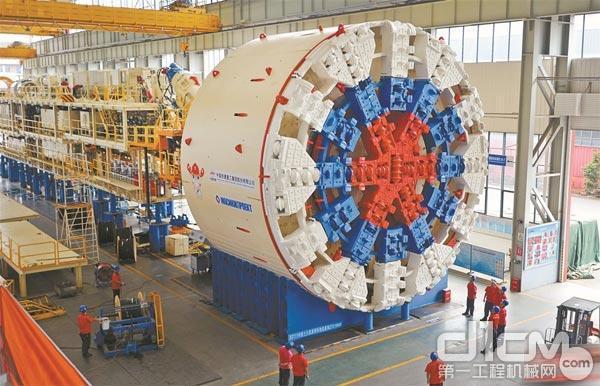 铁建重工出品俄罗斯11米级大直径盾构机