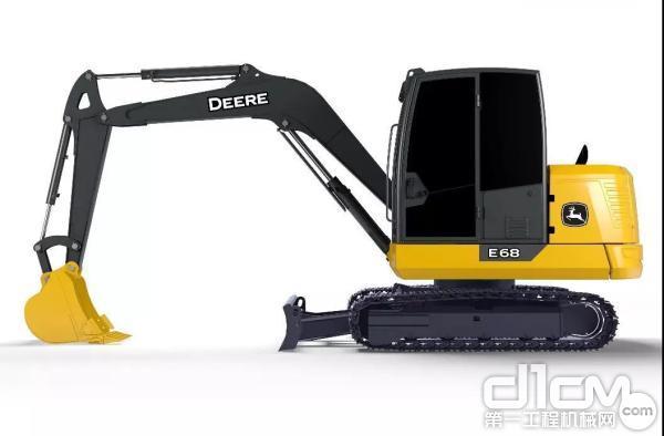 E68迷你型挖掘机