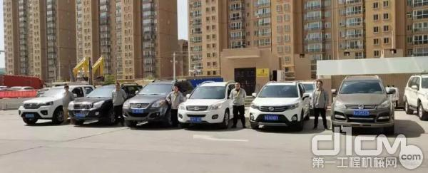 甘肃清源企业服务人员和维修车辆