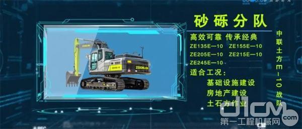 """中联重科E-10系列挖掘机——""""砂砾""""分队"""