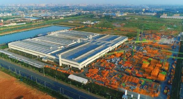 中联重科塔机智能工厂