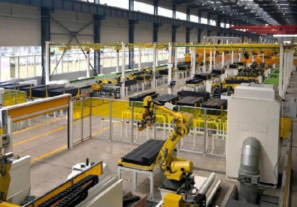 中联重科高空机械智能工厂