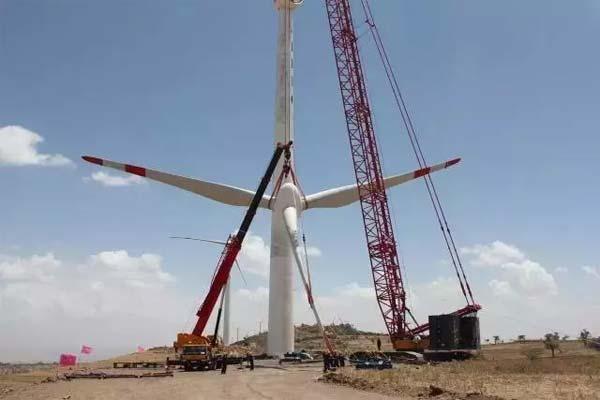 三一设备在非洲施工