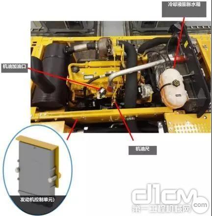 E400LC挖掘机具有高零部件配置