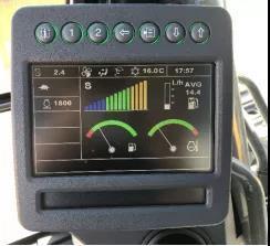 E400LC具有低油耗的特点