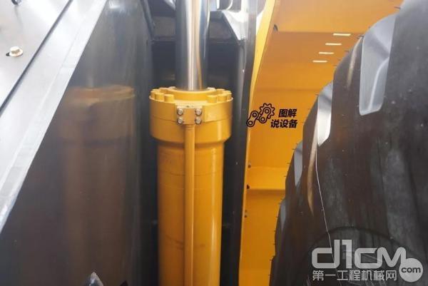 油缸采用的是国产恒力液压品牌