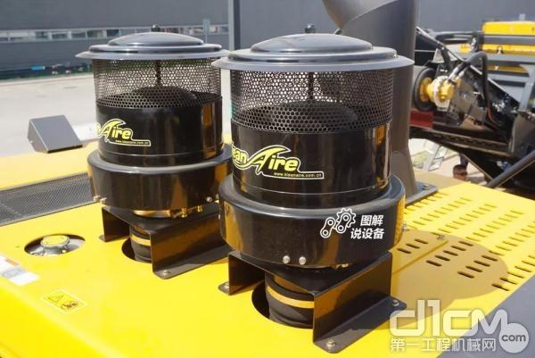 双空气预滤器