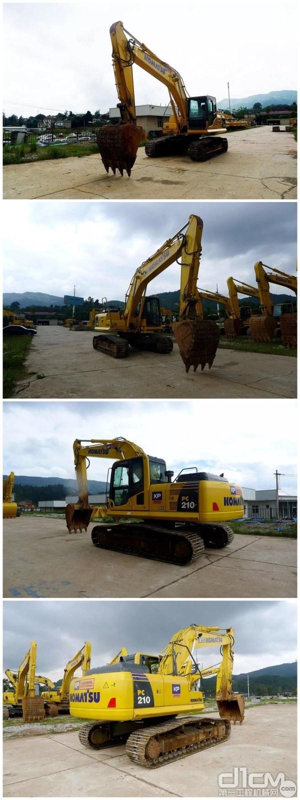小松PC210-8M0挖掘机外观