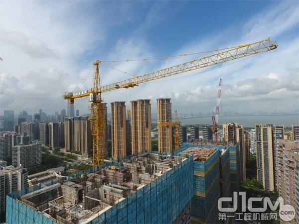 亮剑企业助建深圳海境界家园二期