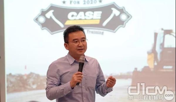 凯斯纽荷兰工业集团中国华南区工程机械销售总监周楷