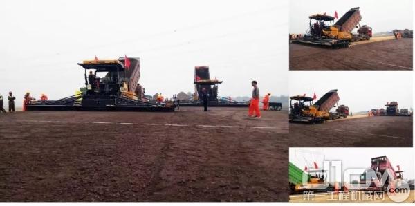 超300余台徐工道路机械助力北京大兴机场建设