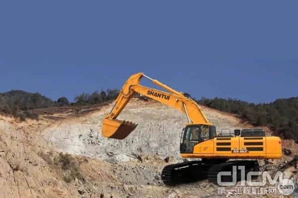 碎石重载王:山推SE500LC挖钱柜777娱乐客户端