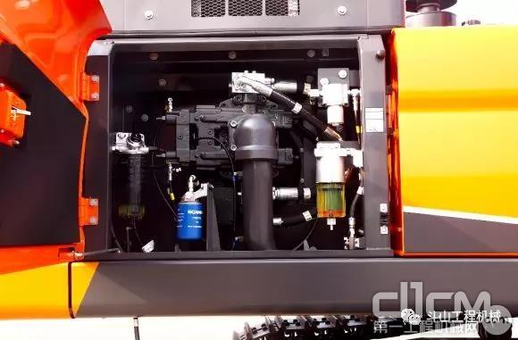 DX450LC-9C的水箱/油冷采用单独设置