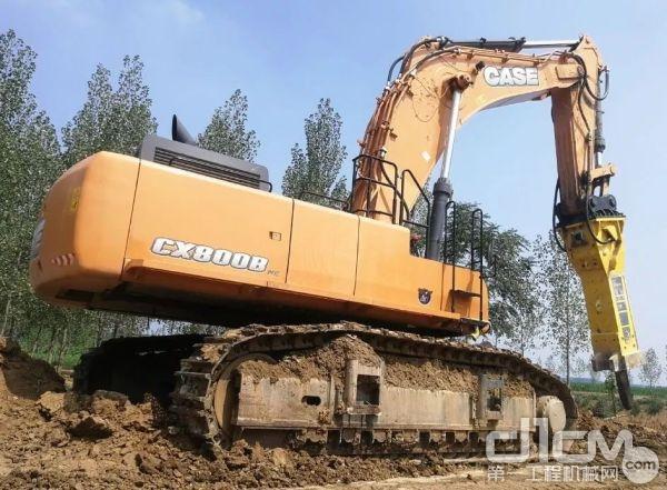凯斯CX800B ME<a href=http://product.d1cm.com/wajueji/ target=_blank>挖掘机</a>