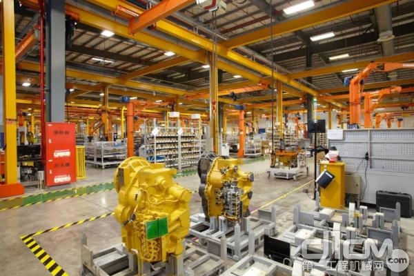 卡特彼勒中国工厂