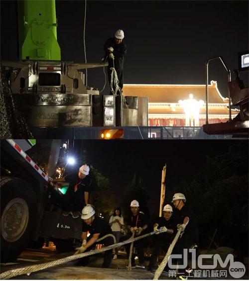 ▲助力大庆直播项目工作中,中联人团结协作高效完成相关工作