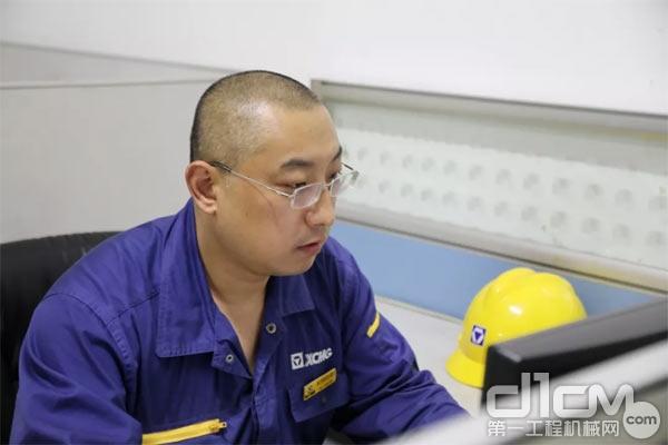 徐工铲运机械事业部职工赵中国