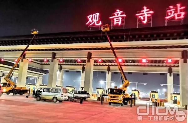 徐工设备助力北京大兴国际机场建设