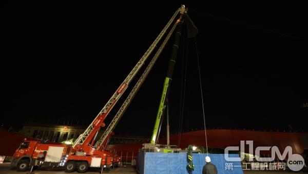 中联重科云梯消防车助力大庆直播并承担其它重任