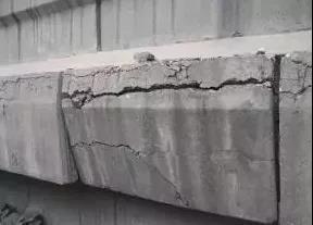 混凝土产生裂缝