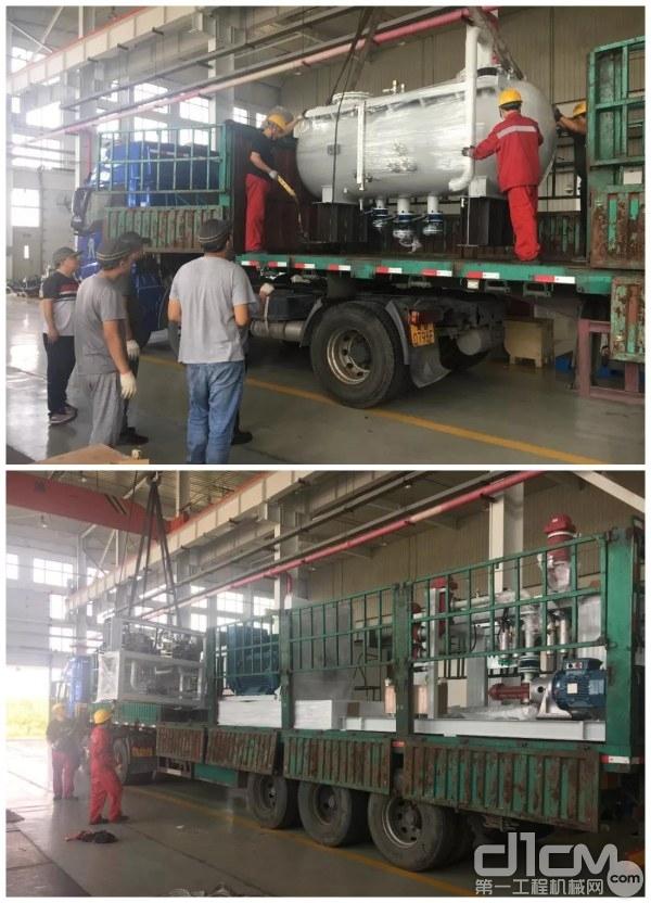 国机重工开式泵耐久性试验台发货