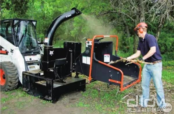 山猫碎木机属具
