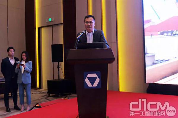 徐工集团起重机械事业部华北营销中心总经理张小宁