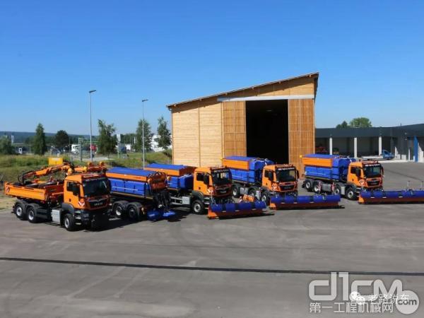 什么叫專業?看德國新A94高速公路上的雄獅軍團——MAN TGS車隊