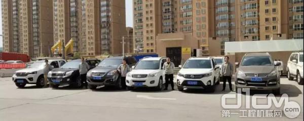 甘肃清源机电设备有限公司服务工程师团队