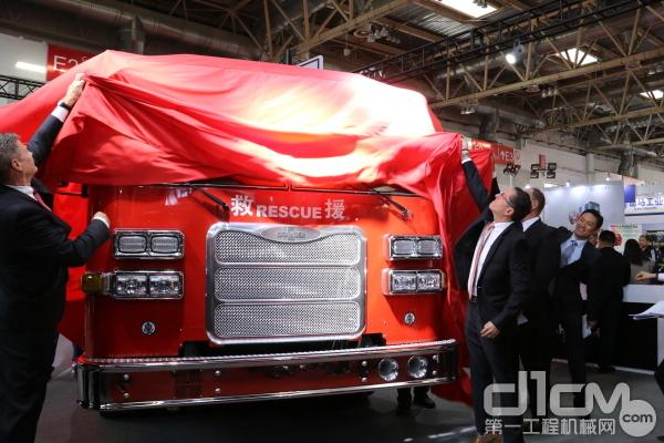 豪士科推出超高层消防车