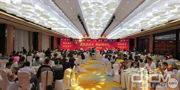 广西巨嘉机电五周年庆典招待晚宴