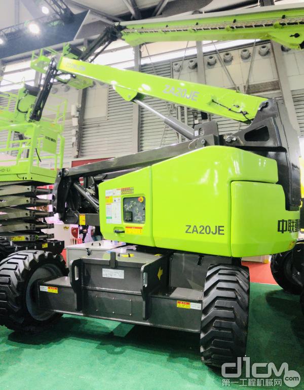 ZA20JE电动曲臂式高空作业平台
