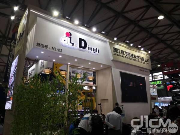 浙江鼎力展台人气火爆