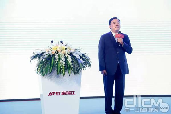 中集瑞江总经理王柱江
