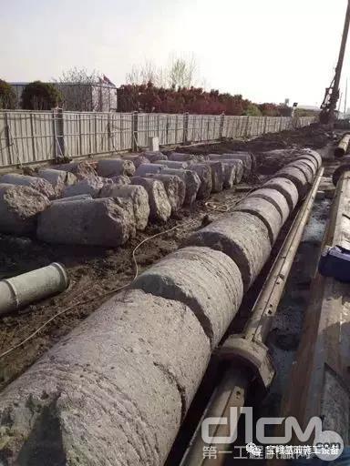 宝峨BG 25C钻机运行超过2万小时的时候钻出的坚硬岩石