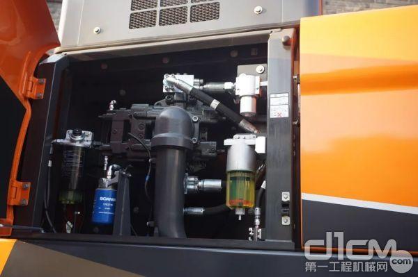 斗山DX360LC-9C搭载斯堪尼亚DC09电控发动机