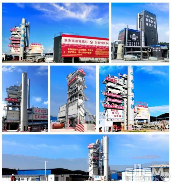 辽宁国泰采购的玛连尼沥青拌和站服务于众多高速公路建设