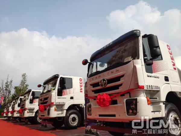 红岩瑞江的车辆底盘按照欧洲IVECO原厂标准打造