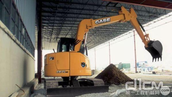 """""""无尾设计""""是CX75SR的标签"""