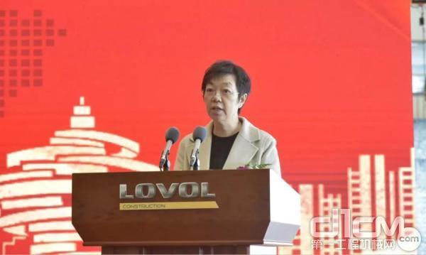 亚太项目客户代表 杨华 致辞