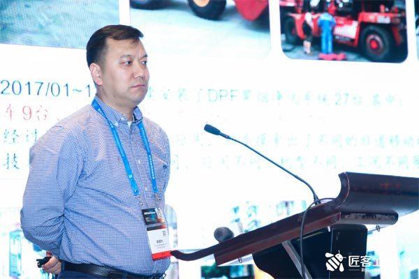 中工工程机械成套有限公司DPF项目技术顾问崔建光先生