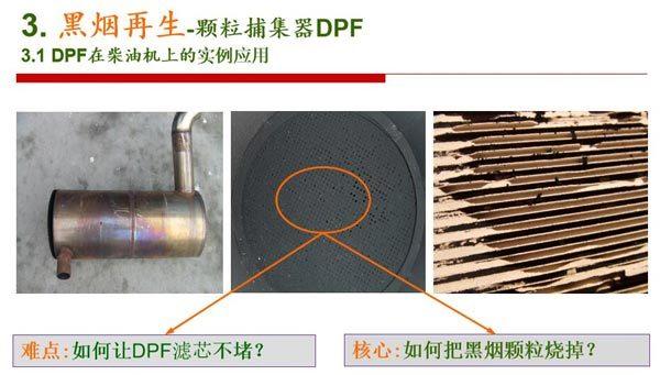 黑烟再生-颗粒捕集器材DPF