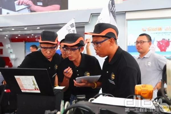 成都站:服务技师国六技能大赛